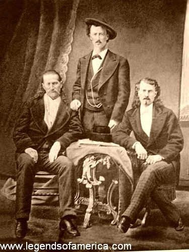 Will Bill, Texas Jack,Buffalo Bill